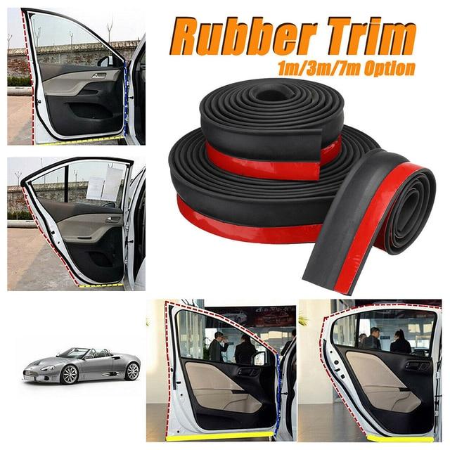 Seal Strip Replacement Multipurpose Full Wrap Edge Rubber Bottom Trim Home Garage Door Portable Weather Adhesive Dustproof