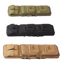Outdoor Tactical Hunting Gun Bag 81cm 95cm 115cm Airsoft Paintball Army Gun Bags Rifle Backpack for Sniper Carbine цена и фото