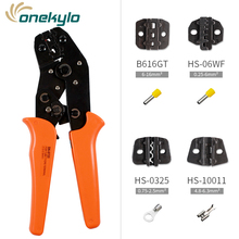Kit multifunctional ratchet crimping tool professional 1-2.5mm2 pliers wire crimpers SN-0725 electrician tools
