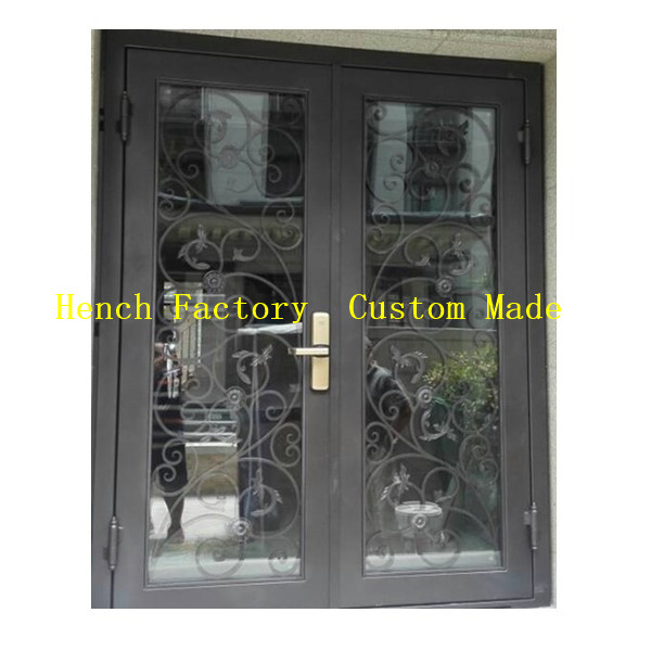 Shanghai Hench Brand China Factory 100% Custom Made Sale Australia Decorative Steel Doors Residential