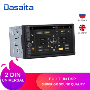 "Dasaita 7"" Android 9.0 Octa Core 4G+32G Universal Double 2 Din for Nissan Car Audio Stereo GPS Navigation Radio Car Multimedia(China)"