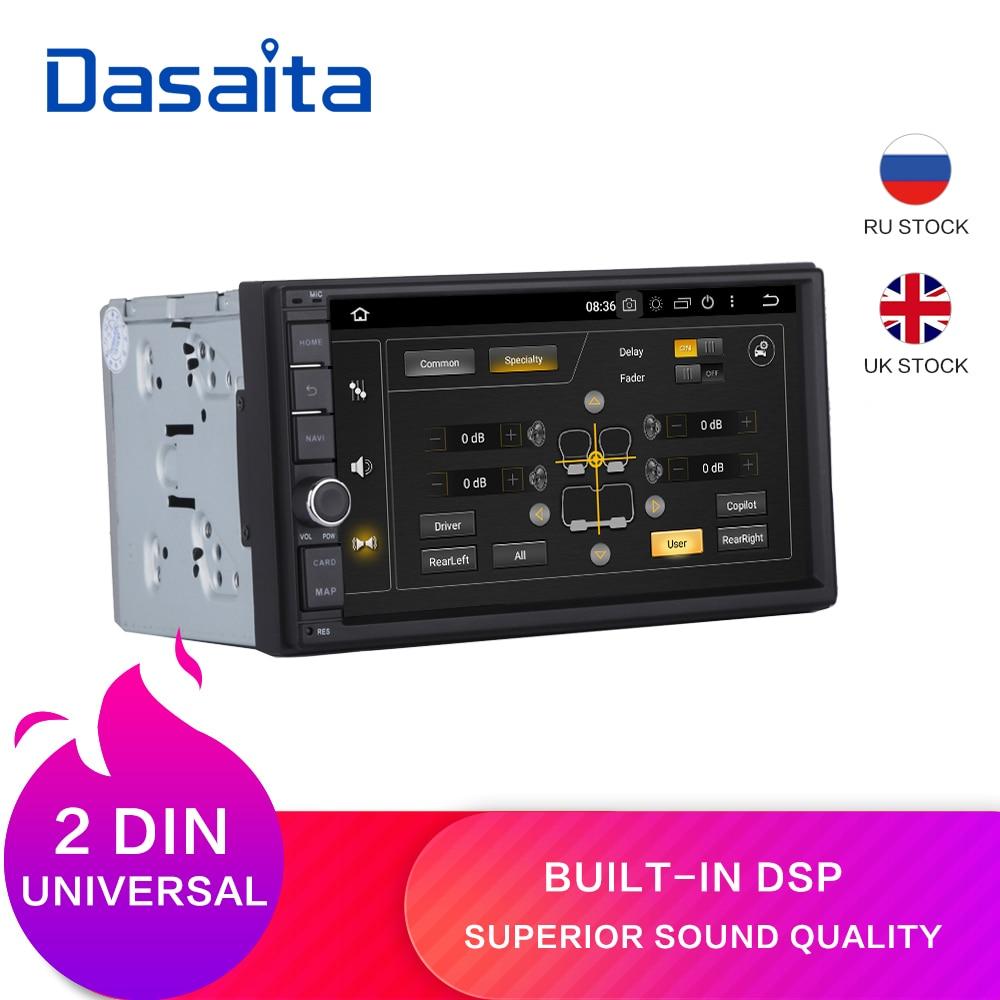 "Dasaita 7"" Android 9.0 Octa Core 4G+32G Universal Double 2 Din for Nissan Car Audio Stereo GPS Navigation Radio Car Multimedia"