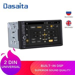 "Dasaita 7"" Android 9.0 Octa Core 4G+32G Universal Double 2 Din for Nissan Car Audio Stereo GPS Navigation Radio Car Multimedia(China)"