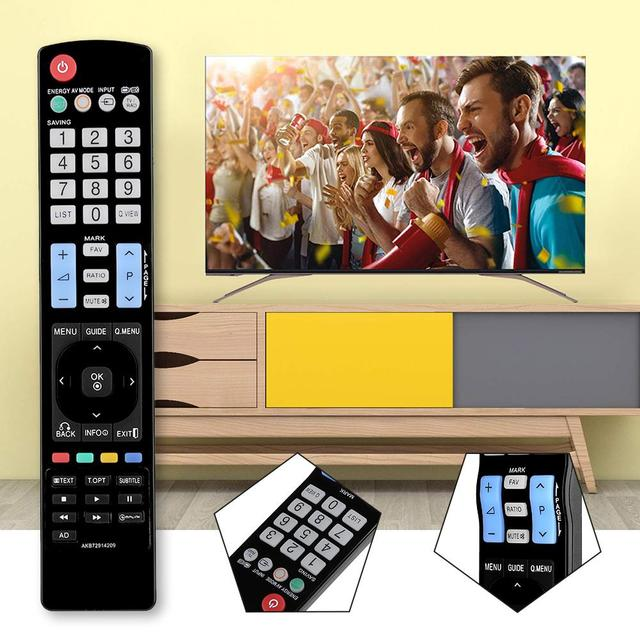 Replacement remote control TV Remote Controller for LG 42LE4500 AKB72914209 AKB74115502 AKB69680403
