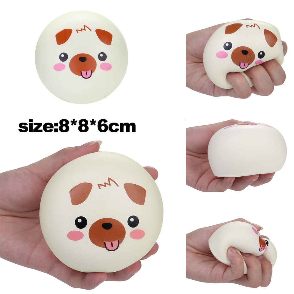 Antistress Slow Rising Toy Squeeze Cented Pink Pig Doughnut For Children's Stress Relief Anti-stress Toys Squeeze Stress L1218