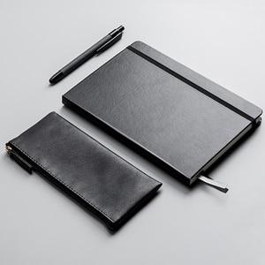 Image 4 - Новый деловой костюм Xiaomi Kinbor ручка блокнот закладки пенал офисный Подарочный костюм практичный высококачественный