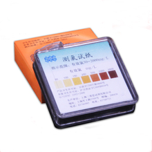 Measuring chlorine test paper Free chlorine test strips Available chlorine 50-2000 mg/L опрессовщик voll v test 50 r