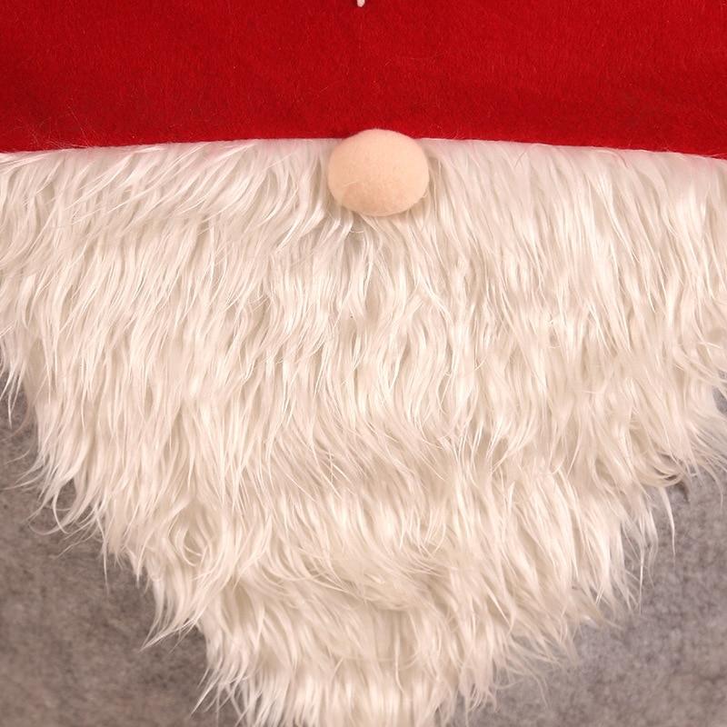 Рождественский Чехол для стула navidad рождественские украшения