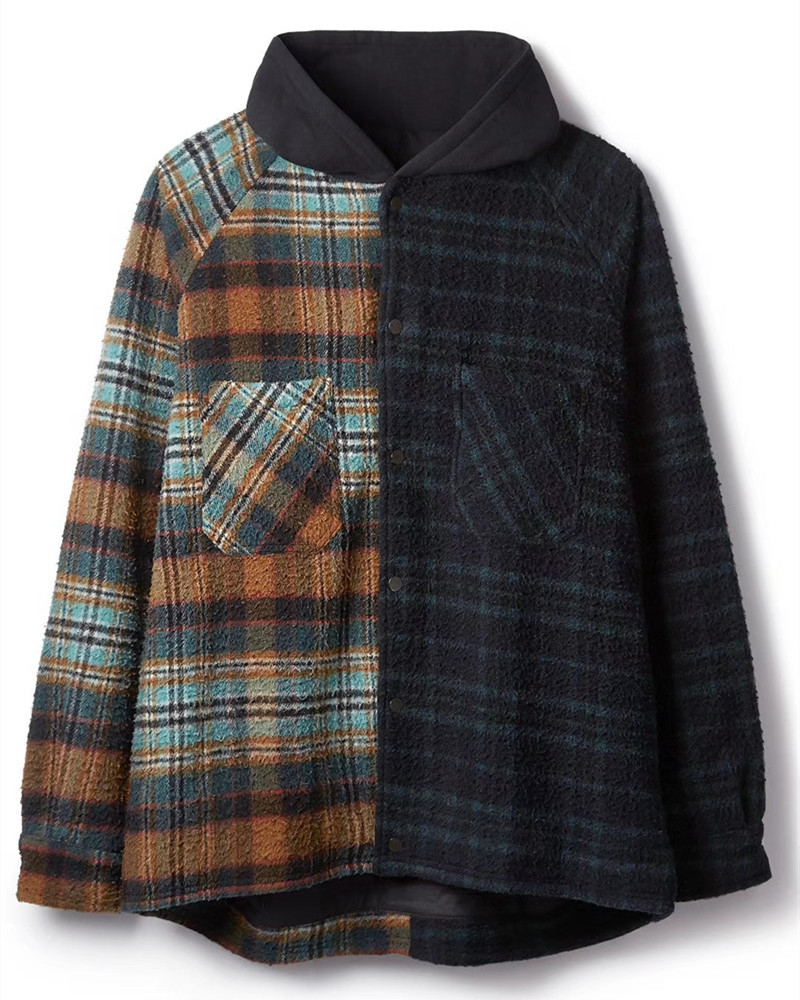 Represent 19FW FLANNEL JACKET Men Women 1:1 Best Quality RHUDE Plaid Shirt Thick Autumn Winter Represent T-Shirt