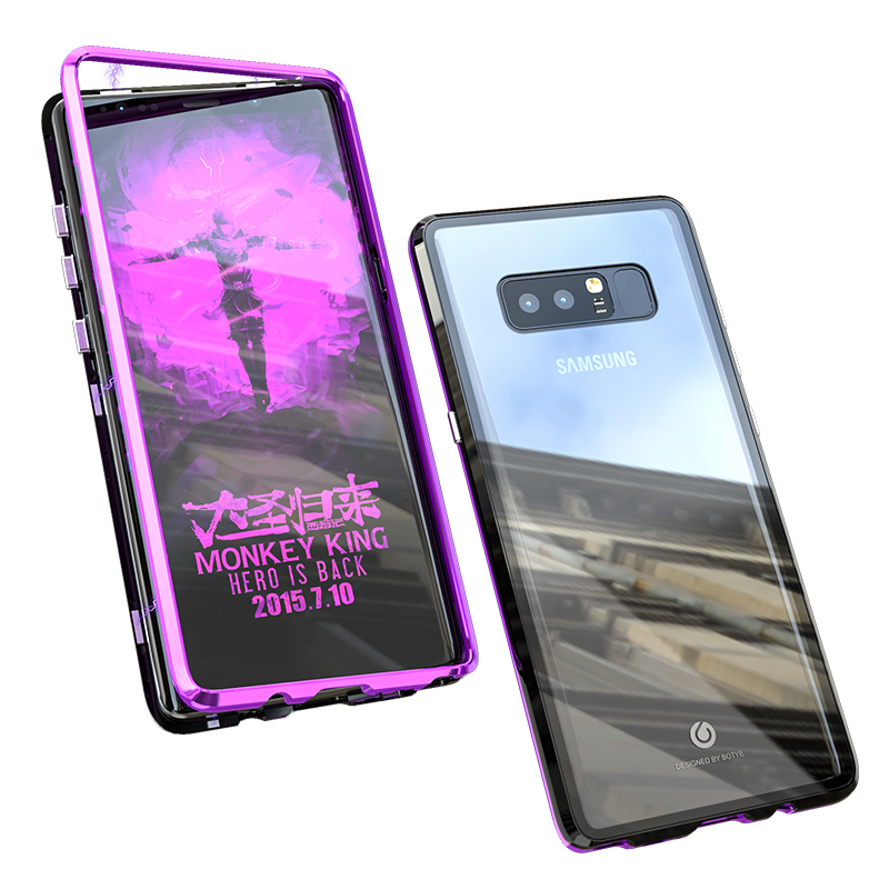 Magnetic <font><b>Case</b></font> For etui coque <font><b>Samsung</b></font> Galaxy S10 Plus S10E Note 9 8 S9 S8 Plus <font><b>Note8</b></font> Note9 Back Covers <font><b>Samsung</b></font> S10 E <font><b>Case</b></font> S10Plus image