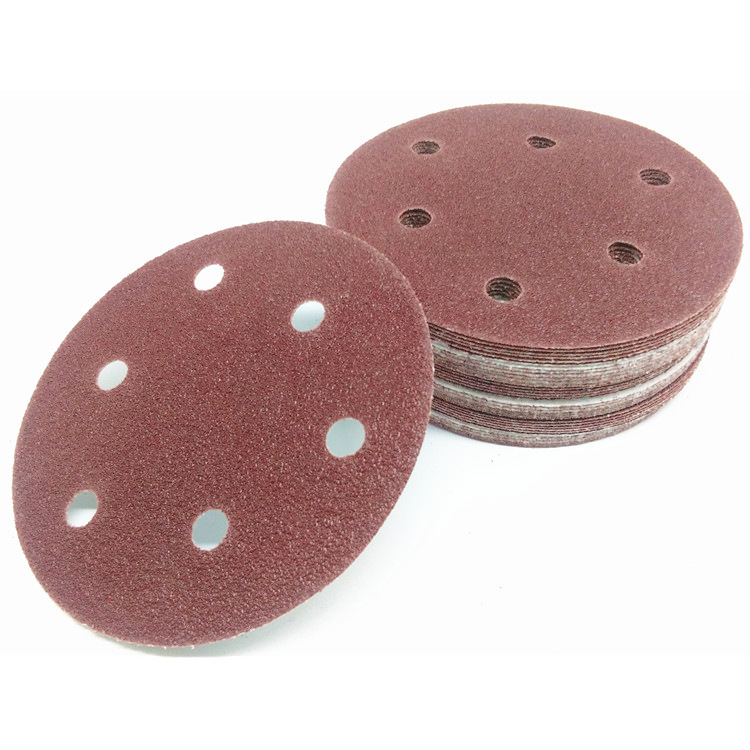 Manufacturers Direct Supply 5-Inch Disc Sandpaper Napper SNAD Paper Disk Pneumatic Self-Adhesive Litter Box Polishing Pad Proces