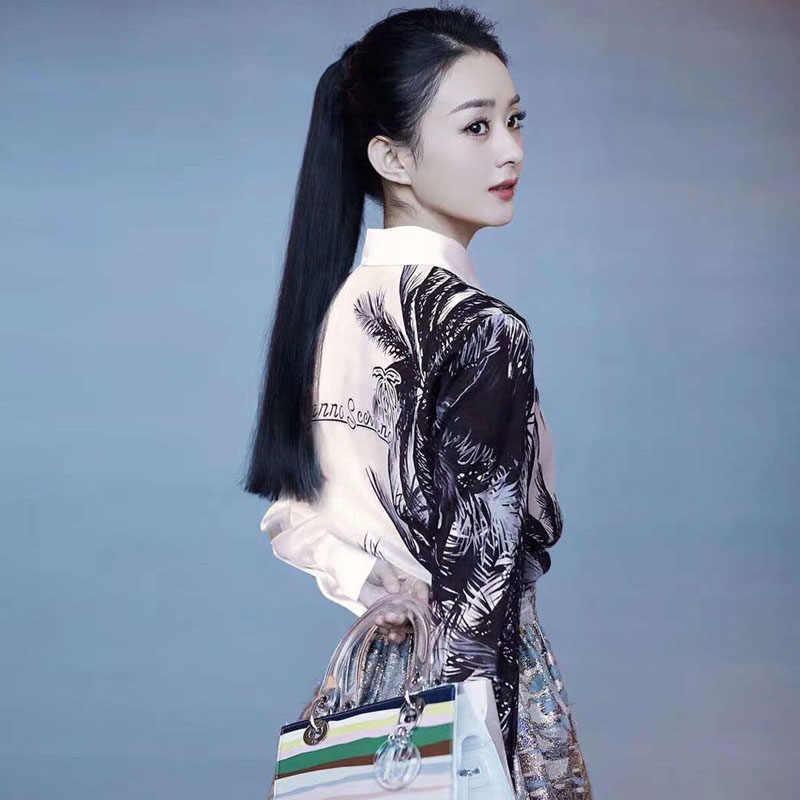 Chemisier femmes printemps 2020 à manches longues de luxe grande taille Vintage blanc Blouse chemise dames hauts vêtements tunique roupas blusas camisa