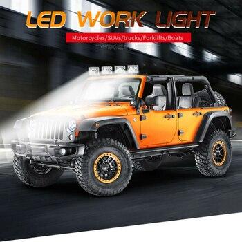 цена на 4inch 78W LED Work Light Bar Flood Light Driving Fog Lamp Off-Road Tractor 9-30V