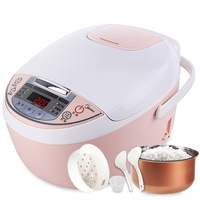 3L Smart rice cooker food warmer Multi function electric rice cooker soup container booking timing Household small rice cooker
