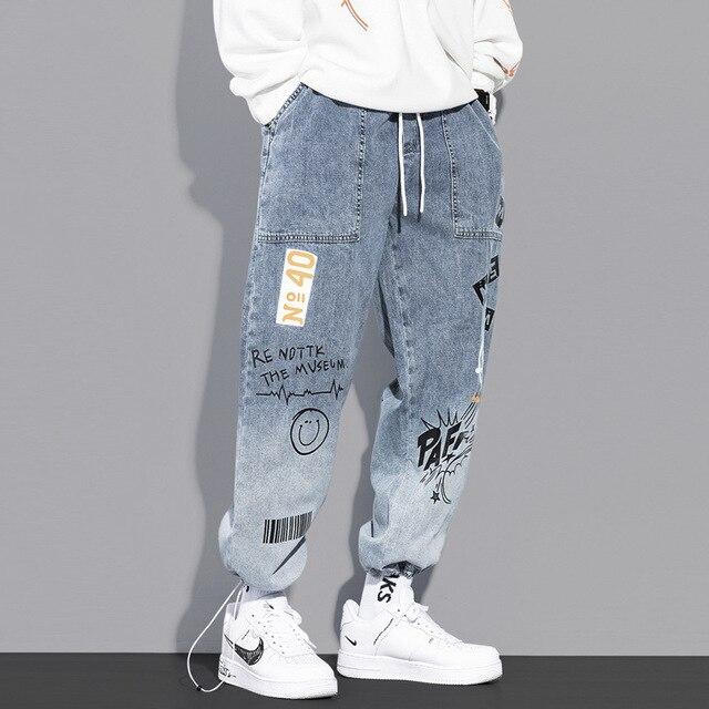 Men's Hip Hop Jogging Pants 4