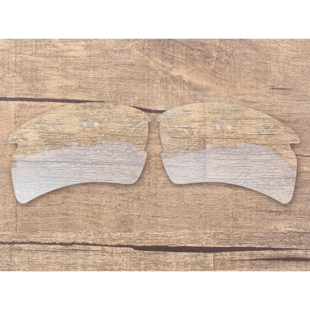 Vonxyz High Intensity Clear Replacement Lenses For-Oakley Flak 2.0 XL OO9188 Frame