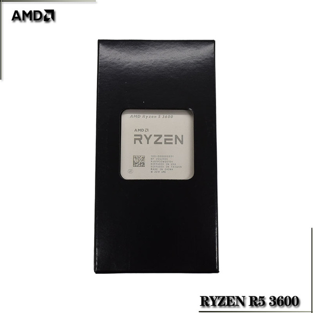 AMD Ryzen 5 3600 R5 3600 3.6 GHz a Sei Core Dodici Thread di CPU Processore 7NM 65W L3 = 32M 100 000000031 Presa AM4