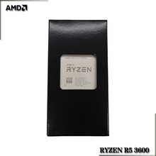 Amd ryzen 5 3600 r5 3600 3.6 ghz seis núcleo processador cpu de doze linhas 7nm 65w l3 = 32m 100 000000031 soquete am4