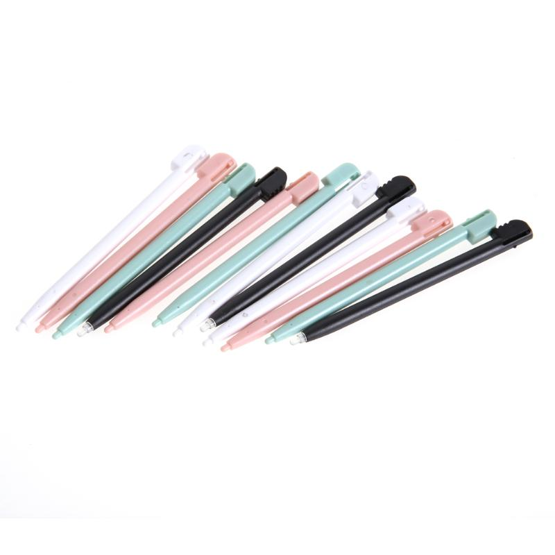4 pces/12 pces cor toque caneta caneta gamepad assistente ferramentas 4 cores controlador de jogos caneta para nintendo nds ds lite dsl ndsl novo
