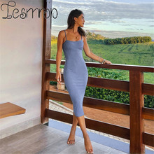 Robe Longue Femme Maxi Bodycon Dress For Women Long Corset Sukienka Vestidos Moulante Largos Slip Longo Summer 2021 Halter Mujer