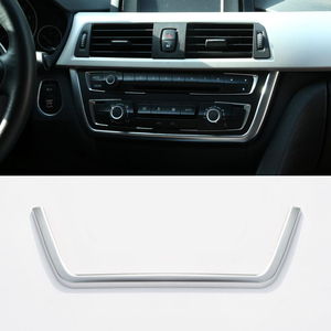 Chrome Dashboard Console Cover Trim Decoraties Voor Bmw 3 4 Serie F30 F31 F32 F34 F36 316 318 320 420 2013 2014 2015 2016 2017(China)