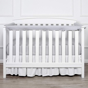 3Pcs/set Solid Color Newborn Baby Bed Bumpers Crib Protect Bed Surround Cot Anti-bite Guardrail Baby Bed Room Decor BTN051