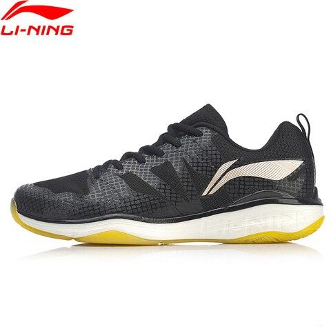 Código de Quebra Sapatos de Espuma Forro de Fibra de Carbono Li-ning Eagle Profissional Badminton Leve li Ning Esporte Sapatos Ayap005 Xyy113 Men