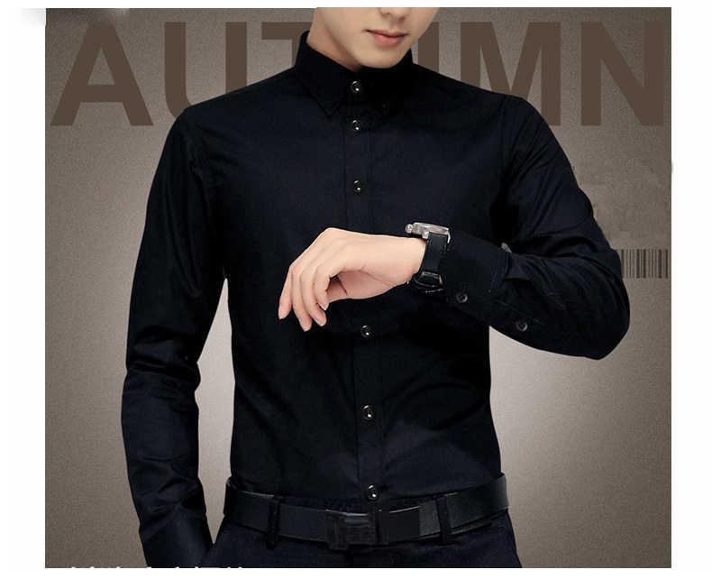 Camisas de vestir de esmoquin de marca Mwxsd para hombre, camisa de manga larga de lujo para fiesta de boda, camisa suave de seda para hombres, camisa de negocios mercerizada