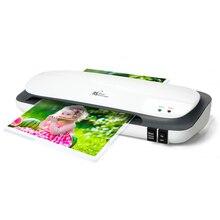A4 plastic sealing film family document glue machine photo small laminating machine office hot plastic sealing film machine