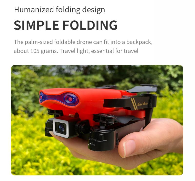H9b8080cf1b3141dcb0b768738297656aP - E99 PRO RC Drone 4K HD Dual Camera WiFi FPV Foldable Automatic Return Professional Aerial Drone K3 Dron Toy Gift For Adult Kids