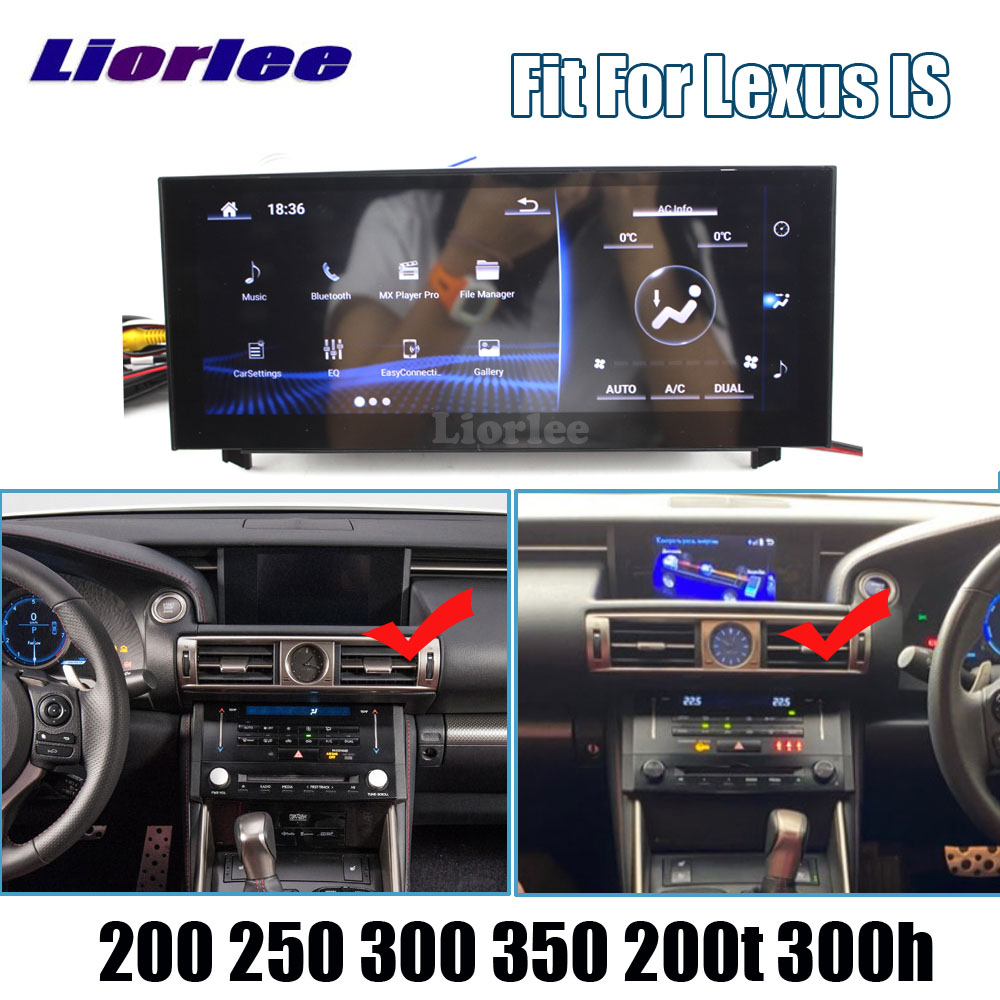 Car GPS Multimedia Player For <font><b>Lexus</b></font> <font><b>IS</b></font> 200 <font><b>250</b></font> 300 350 200T 300h 2013-2018 Android Radio Audio Video Head Unit Navigation System image