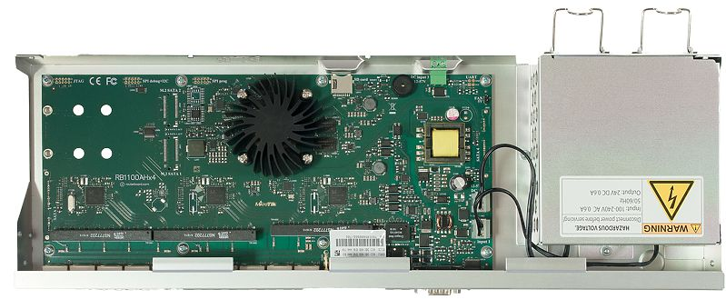 MikroTik RB1100AHx4 Dude Edition RouterBOARD,with 13xGigabit Ethernet Ports, RS232 Serial Port and Dual Redundant Power Supplies 3