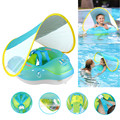 New Upgrades Baby Swimming Float Inflatable Infant Floating Kids Swim Pool Accessories Circle Rings Toddler Bathing Summer Toys