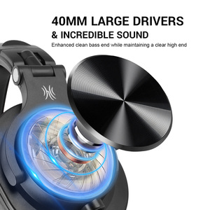 Image 2 - Oneodio A71 Professional DJ Headphones With Microphone Portable Wired Headset Music Share Lock Headphone For  Monitor