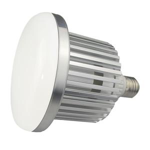 Image 5 - 95W 100 245V E27 ampul fotoğraf LED Video işığı sıcak lamba bi renk 3200K 5500K + uzaktan kumanda stüdyo Softbox Video