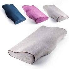 Przedłużanie rzęs specjalna poduszka z pianki Memory szczepione rzęsy poduszka ergonomiczne odbicie szyjki macicy łagodzi ciśnienie szyjki macicy