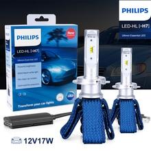 Philips H7 светодиодный автомобильный фары Ultinon эфирные 6000K белые Противотуманные фары nebbia luces светодиодный para Авто диодные лампы для автомобилей 2 шт
