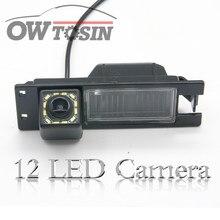 12 светодиодных ламп, фотокамера для Alfa Romeo 156 159 166 задний вид автомобиля 147, функция ночного видения, водонепроницаемая парковка