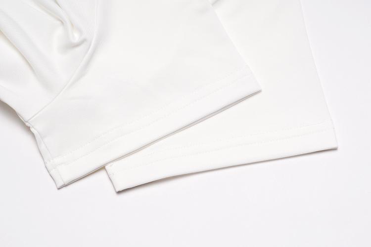 de golfe de secagem rápida de manga