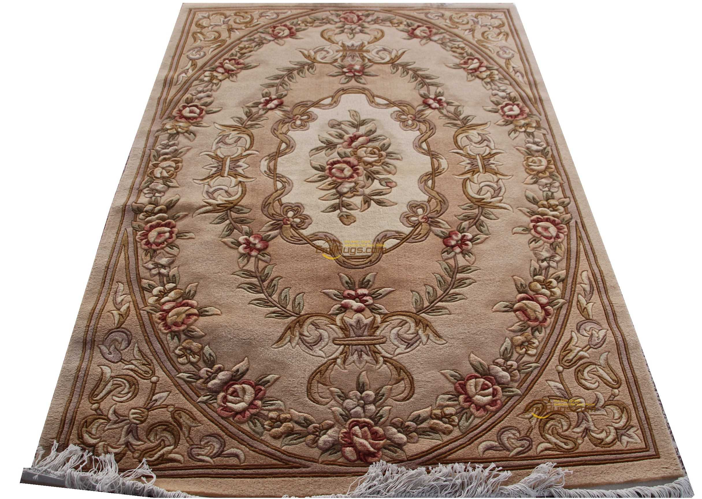 Woven Carpet Wool French Carpet About Machine Made Thick Plush Savonnerie Rug