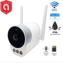 3MP IP Camera Outdoor WiFi Camera H.265 Waterproof IR Night Vision Security CCTV Camera Two Way Audio Double Antenna цена в Москве и Питере
