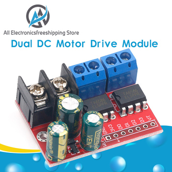 H Bridge Remote Control 5A 3V-14V Dual DC Motor Drive Module Voltage Reverse PWM Speed Regulation Double Super L298N 5AD - discount item  9% OFF Electrical Equipment & Supplies