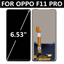 цена на FOR OPPO F11 PRO CPH1969 LCD Display With Touch Panel Screen Digitizer Assembly Replacement For OPPO F11 LCD F11Pro Screen