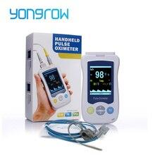 Yongrow רפואי אצבע Oximetro דופק כף יד מיני דה Pulso דה Dedo תינוק ילודים SPO2 דם חמצן כף יד OLED