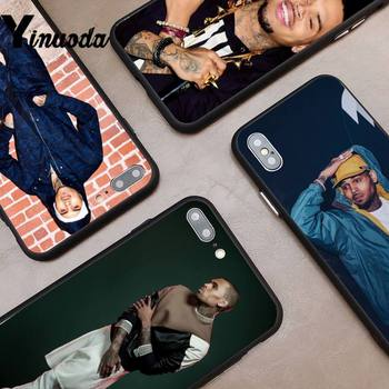 Yinuoda Chris Brown Breezy Phone Case cover For iPhone 6 6S Plus 5 5S SE coque for iPhone XR 11 Pro Promax image