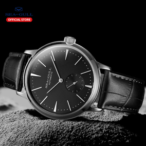 Image 4 - Seagull Business Watches Mens Mechanical Wristwatches 50m Waterproof Leather Valentine Male Watches 519.12.6075