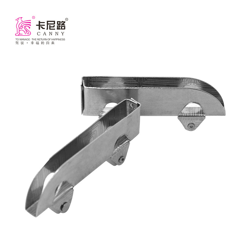 2301 Glass Round 5 Li Glass Roller Knife-Shaped Round Stainless Steel Glass Sliding Door Roller Shan Zi Cao Double Flywheels-Pie