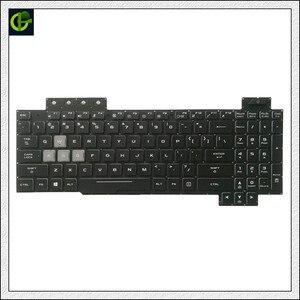 Image 2 - Orijinal İngilizce arkadan aydınlatmalı klavye için ASUS ROG FX504 FX504G FX504GE FX504GD fx504gm abd laptop