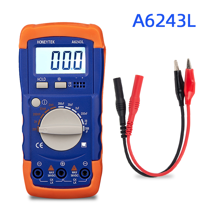 Lc Meter Multimeter Digital Professional Capacitor Tester Check Capacitors Automotive Multimeter Inductance Meter Tester Analog