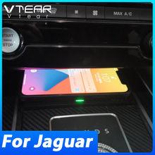 Chargeur sans fil Qi pour voiture, plaque de chargement rapide 10w, pour Jaguar f-pace/Xf X260/ XE 2016 2017 2018, Modification d'accessoires